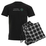Fueled by Whirled Peas Men's Dark Pajamas