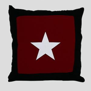 Americana Star Throw Pillow
