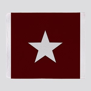 Americana Star Throw Blanket