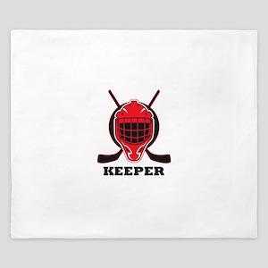 HOCKEY KEEPER King Duvet