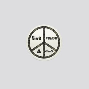 Give Peace A Chance Mini Button