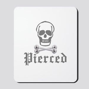 Pierced Mousepad