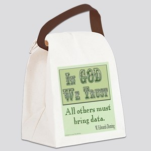 Must Bring Data Canvas Lunch Bag