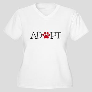 Adopt! Plus Size T-Shirt