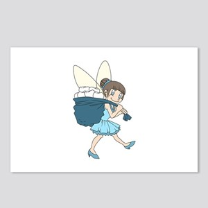 TOOTH FAIRY AT WORK Postcards (Package of 8)