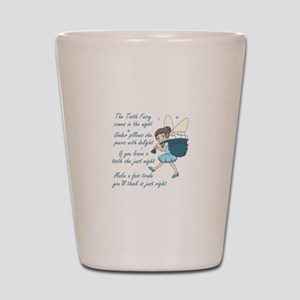 TOOTH FAIRY POEM Shot Glass