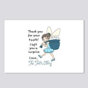 LETTER FROM TOOTH FAIRY Postcards (Package of 8)