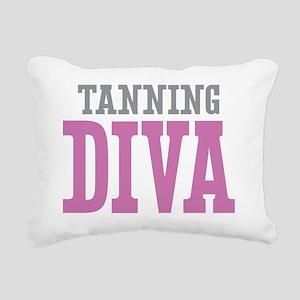 Tanning DIVA Rectangular Canvas Pillow