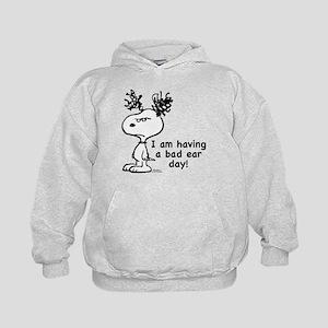 Snoopy: Bad Ear Day Kids Hoodie