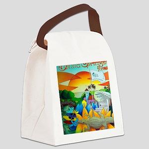 Cuban,West Coast Art Alex 7 Canvas Lunch Bag