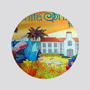 "Alex,Cuban ART,Florida 8 3.5"" Button"