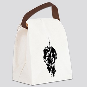 Samurai Canvas Lunch Bag