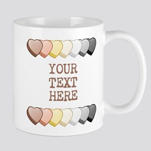Bear Pride Custom Candy Hearts Mug