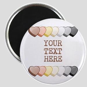 Bear Pride Custom Candy Hearts Magnet