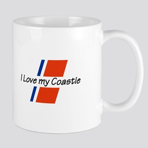 LOVE MY COASTIE Mugs