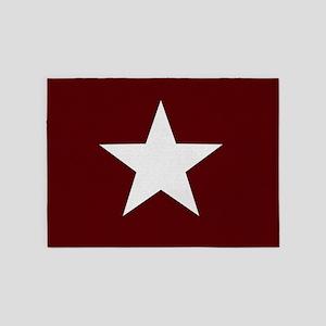 Americana Star 5'x7'Area Rug