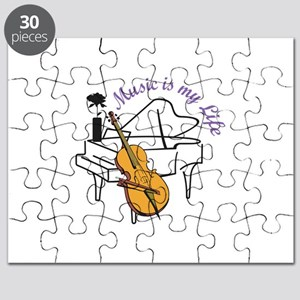 MUSIC IS MY LIFE Puzzle