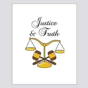 SCALES JUSTICE AND TRUTH Posters
