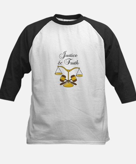 SCALES JUSTICE AND TRUTH Baseball Jersey