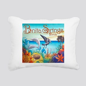 #4 Cuban Artist Alex Nun Rectangular Canvas Pillow