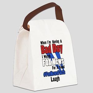 #FoxNewsFacts (Light) Canvas Lunch Bag