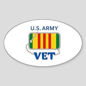 U S ARMY VET Sticker