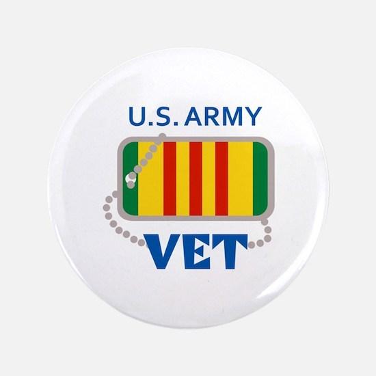 "U S ARMY VET 3.5"" Button"