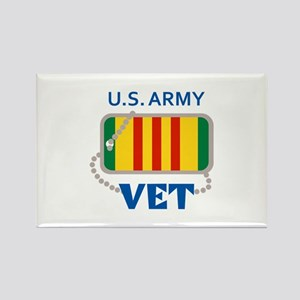U S ARMY VET Magnets