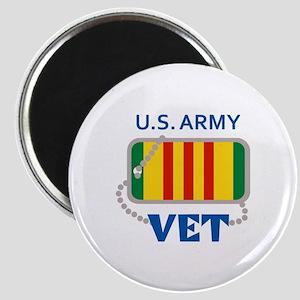 U S ARMY VET Magnets