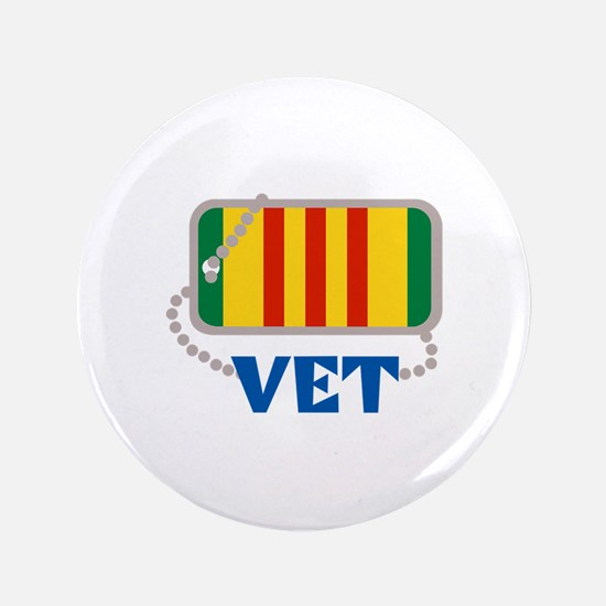 "VIETNAM VET 3.5"" Button (100 pack)"
