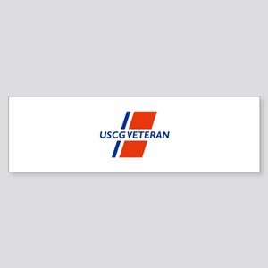 COAST GUARD VETERAN Bumper Sticker