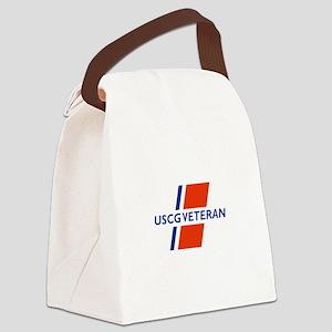 COAST GUARD VETERAN Canvas Lunch Bag