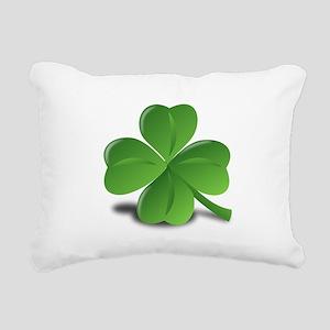 Shamrock Rectangular Canvas Pillow