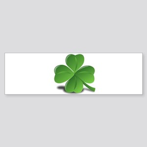 Shamrock Bumper Sticker