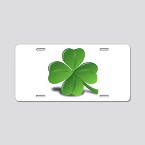 Shamrock Aluminum License Plate