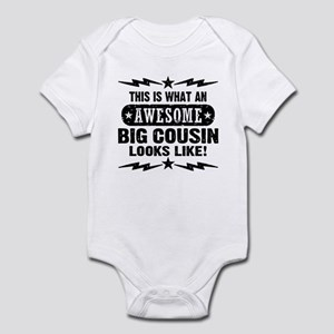 Awesome Big Cousin Infant Bodysuit