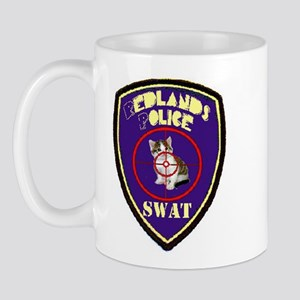 Redlands PD SWAT Mug