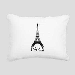 Paris, Eiffel tower Rectangular Canvas Pillow