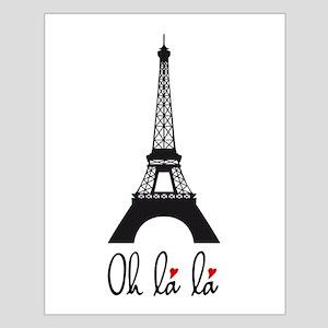 Eiffel tower, Paris Oh la la Posters
