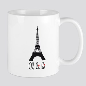 Eiffel tower, Paris Oh la la Mugs