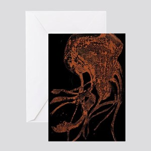 Claire Corey Blk CopperJelly Greeting Cards
