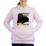 Rottie Says My Ball Women's Hooded Sweatshirt