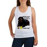 Rottie Says My Ball Women's Tank Top