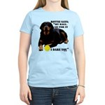 Rottie Says My Ball Women's Light T-Shirt