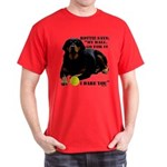 Rottie Says My Ball Dark T-Shirt