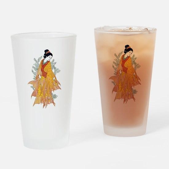 Koi Kimono Drinking Glass