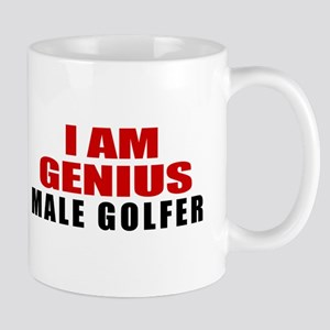 I Am Genius male golfer 11 oz Ceramic Mug