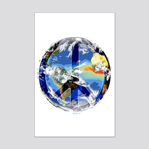 World Peace Mini Poster Print