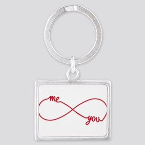 You and me together forever Keychains