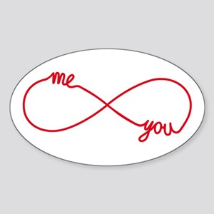 You and me together forever Sticker